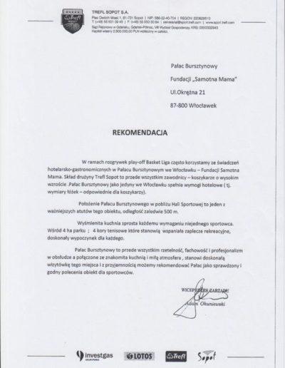 Trefl Sopot referencje